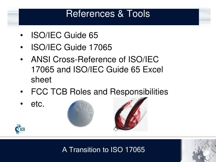 References & Tools