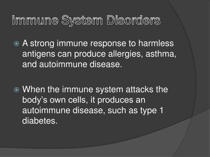 Immune System Disorders