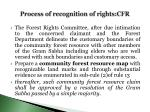 process of recognition of rights cfr