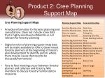 product 2 cree planning support m ap