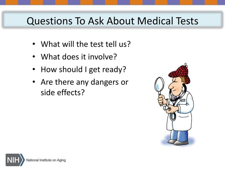 Questions To Ask About Medical Tests