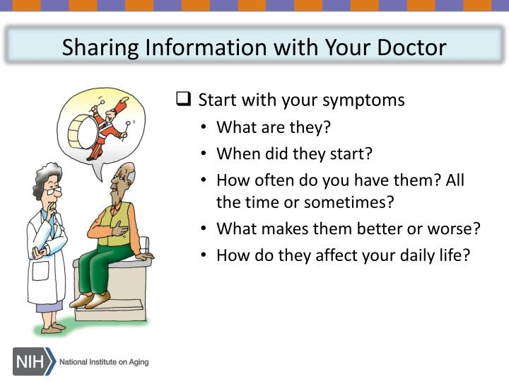 Sharing Information with Your Doctor