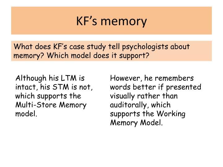 KF's memory