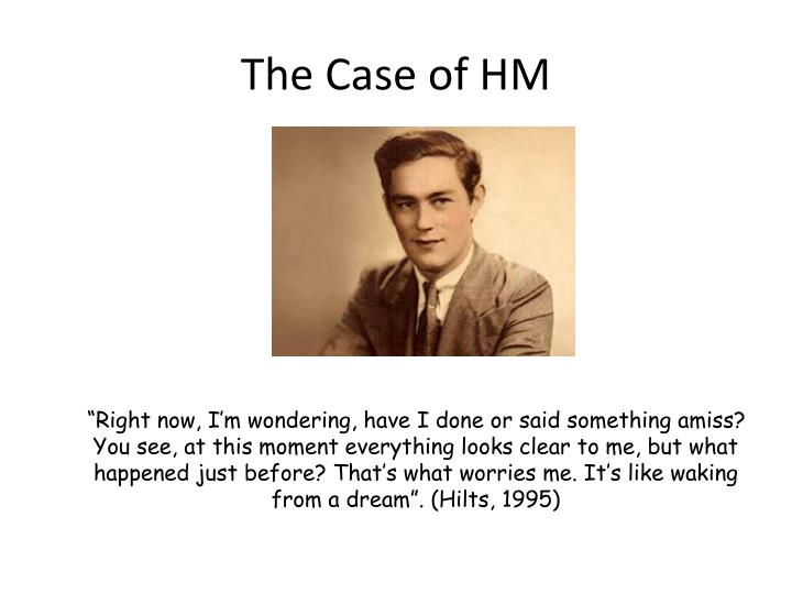 The Case of HM