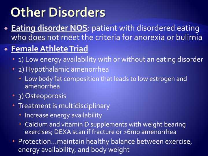 Other Disorders
