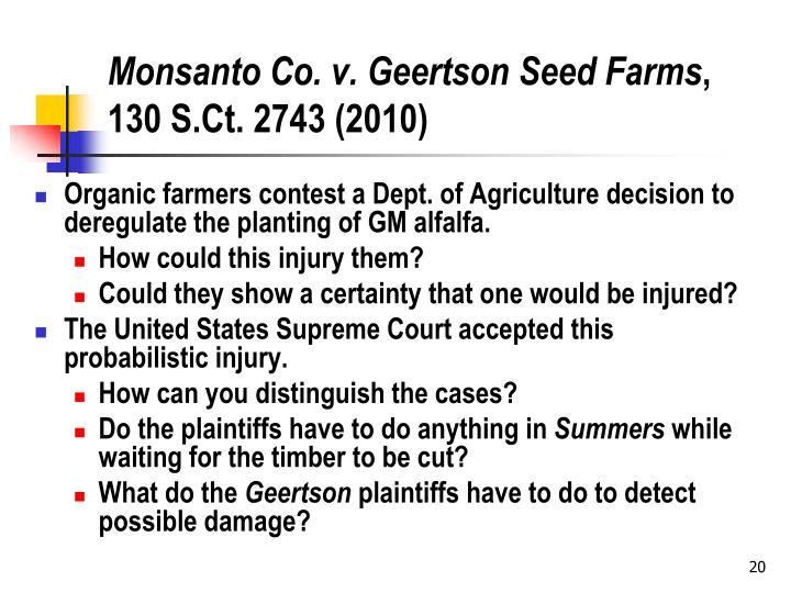 Monsanto Co. v.
