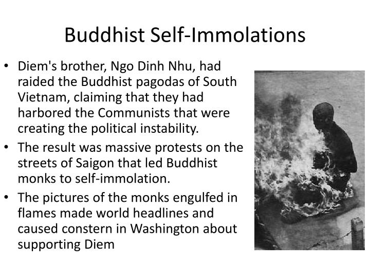 Buddhist Self-Immolations