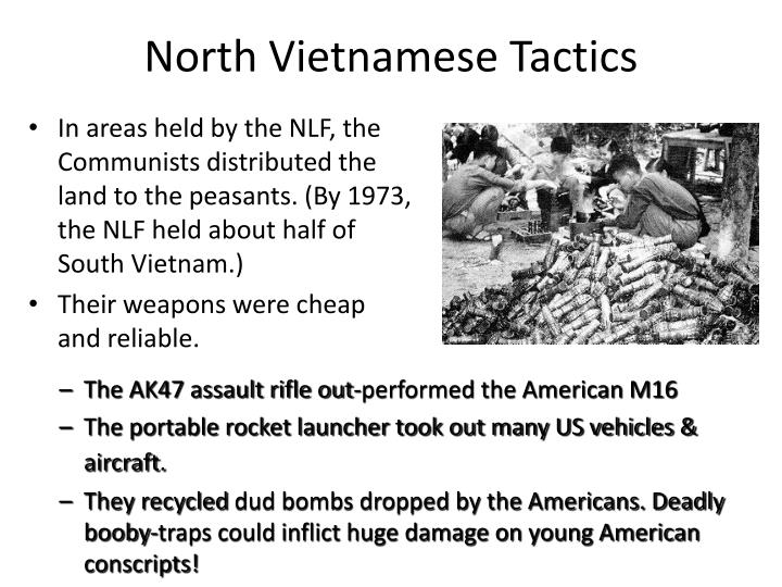 North Vietnamese Tactics