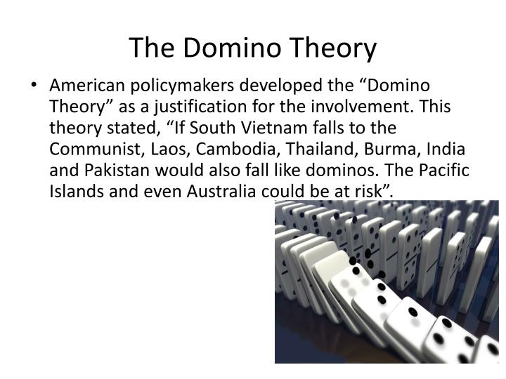 The domino theory