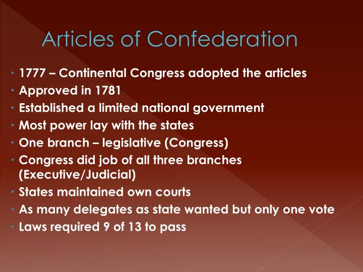 problems articles confederation were addressed constitutio It was 240 years ago today that the articles of confederation, the first american  constitution, was sent to the  the british capture of philadelphia also forced the  issue  states were able to conduct their own foreign policies.
