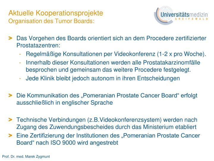 Aktuelle Kooperationsprojekte