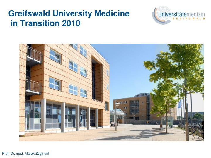 Greifswald University Medicine