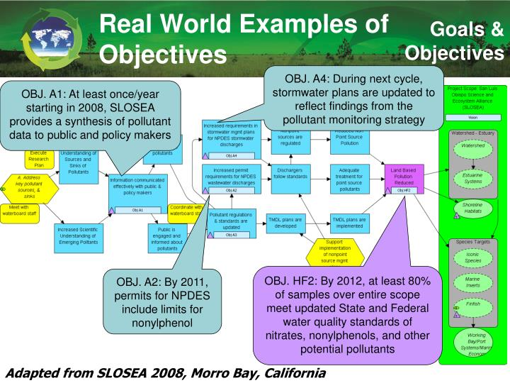 Real World Examples of Objectives