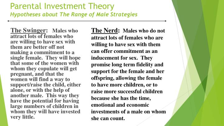 Parental Investment Theory