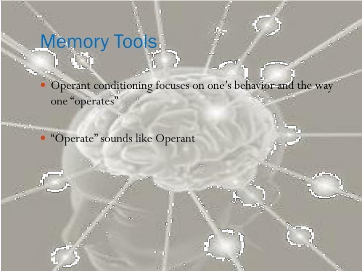 Memory Tools