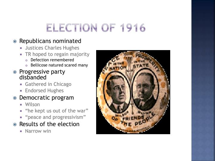 Election of 1916