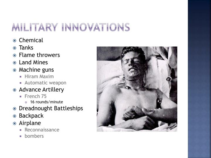 Military Innovations