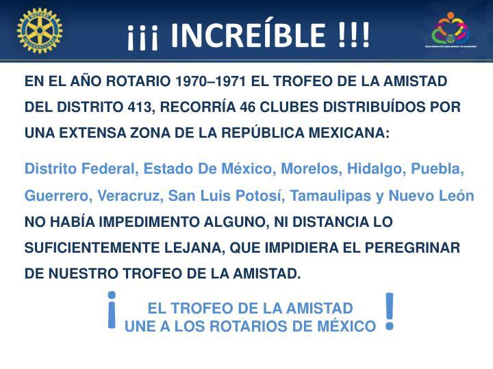 ¡¡¡ INCREÍBLE !!!