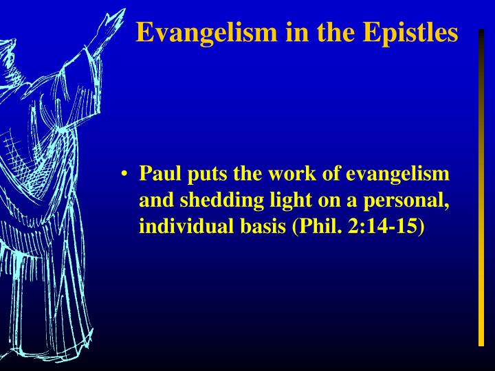 Evangelism in the Epistles