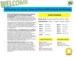 welcome to camp zone at merryhill school mckinney
