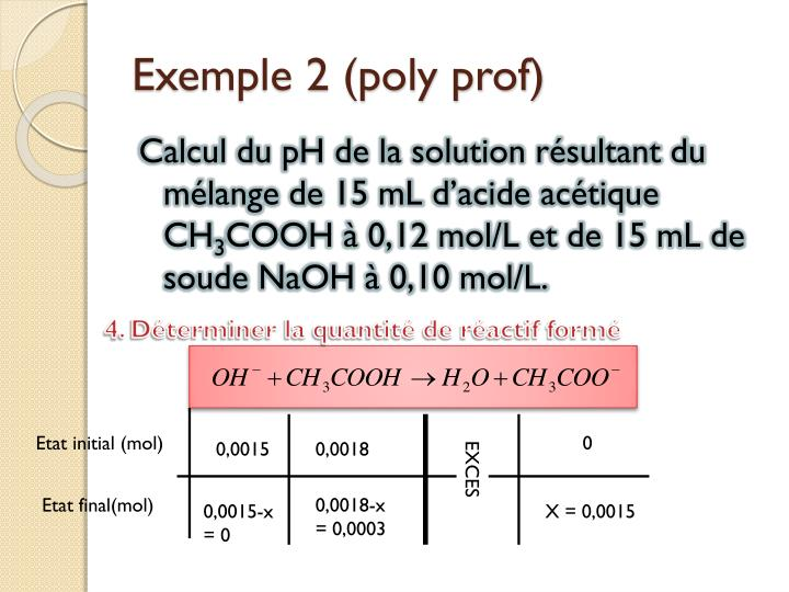 Exemple 2 (poly prof)