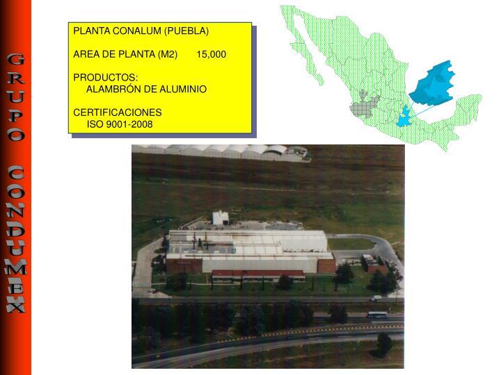 PLANTA CONALUM (
