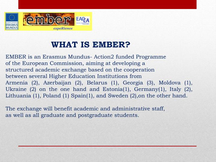 What is ember