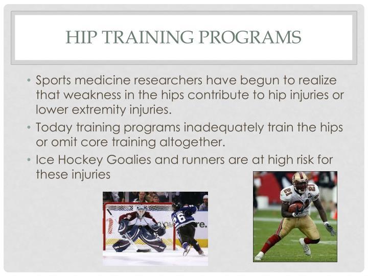 Hip training