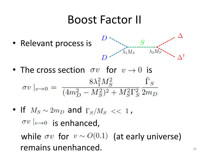 Boost Factor II
