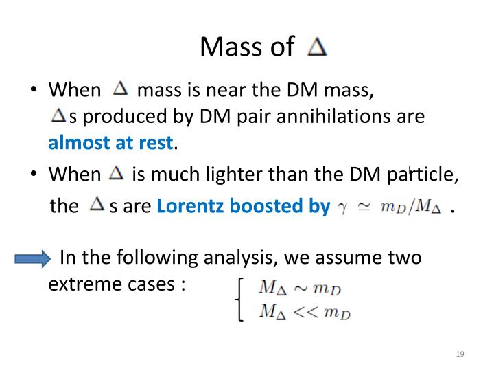 Mass of