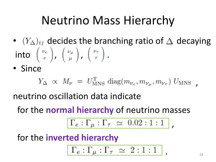 Neutrino Mass Hierarchy