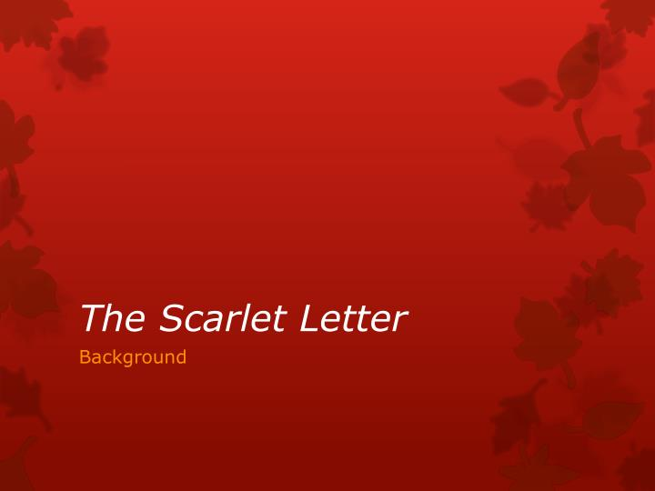 feminism in hawthornes the scarlet letter essay