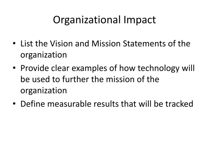 impact of technology on organizational development That revolve around values and the general applicability of od technology the  theory and  ed on the effects of oe, several isolated studies of other army od.