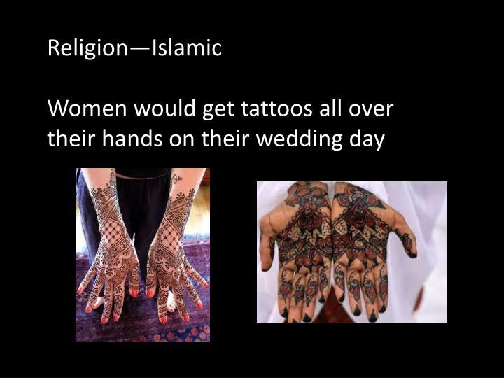 Religion—Islamic