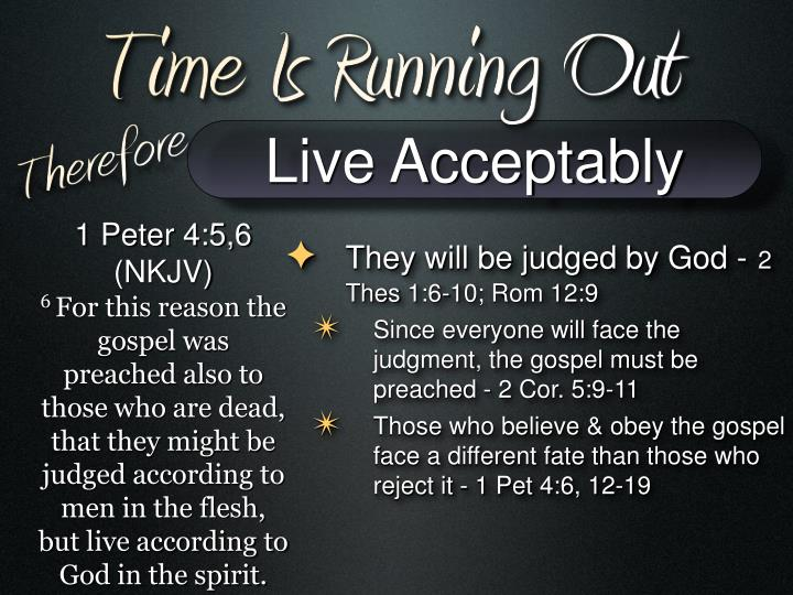 Live Acceptably