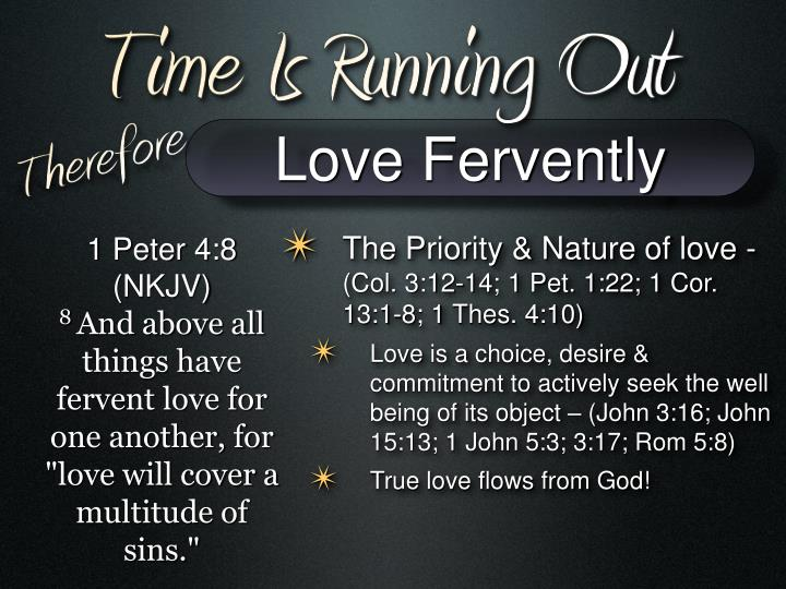 Love Fervently