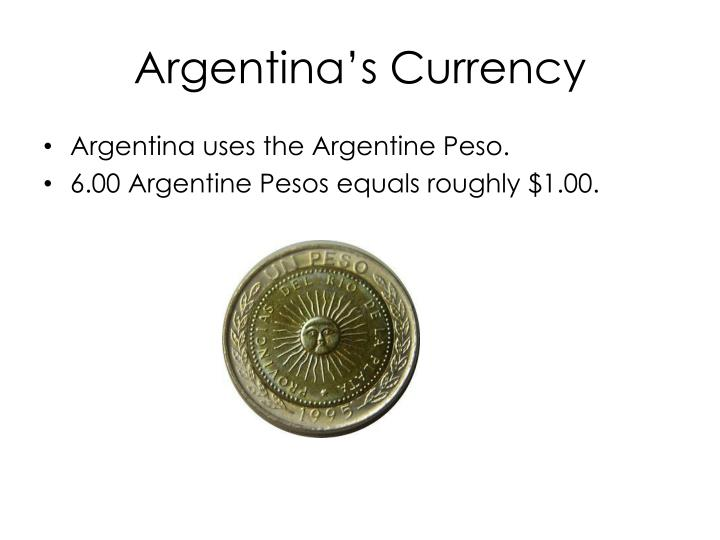 Argentina s currency