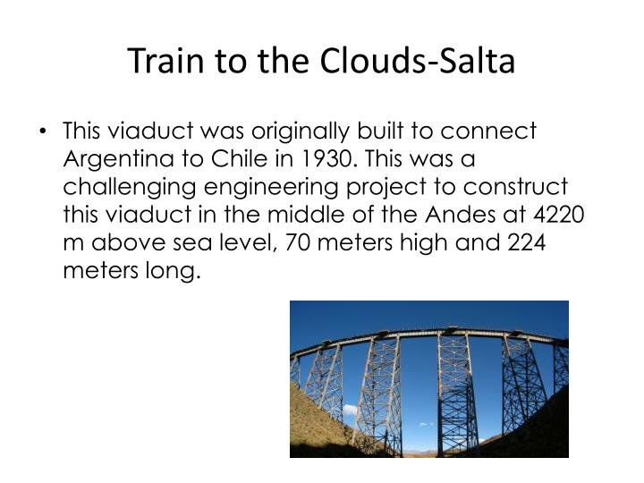 Train to the Clouds-Salta