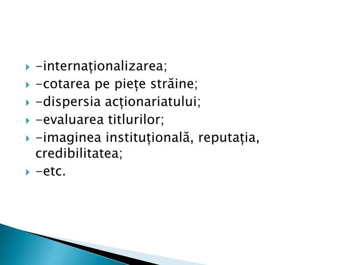 -internaționalizarea;