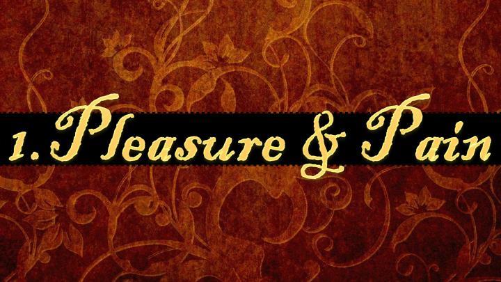 1.Pleasure & Pain