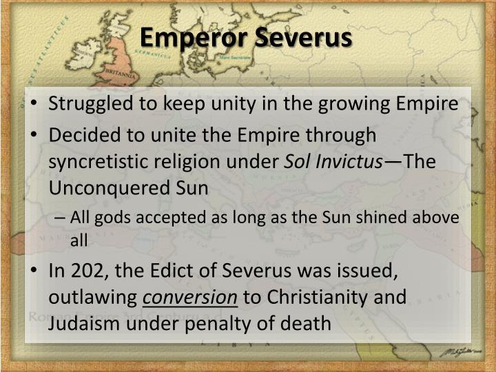 Emperor Severus