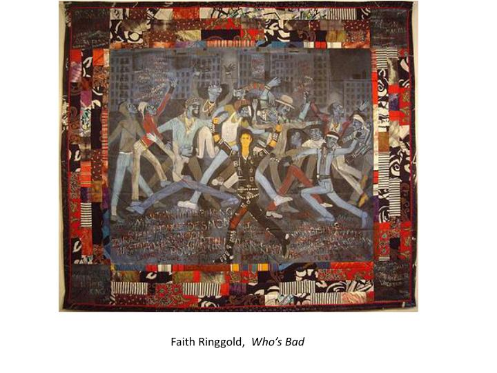 Faith Ringgold,