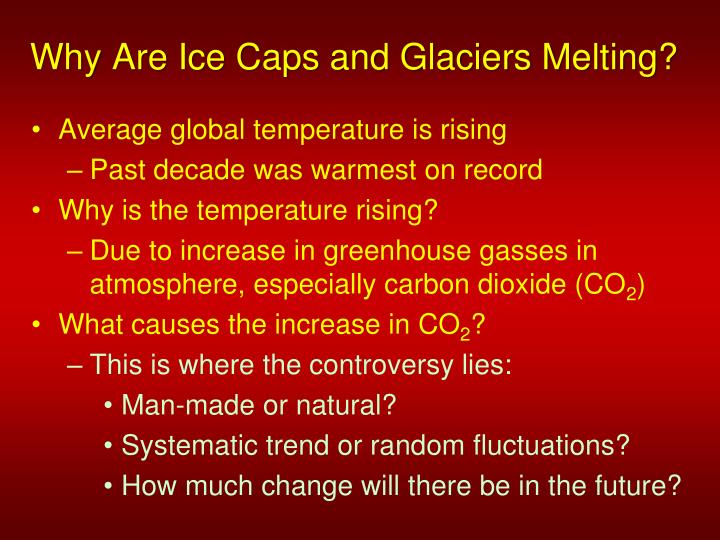 Why Are Ice Caps and Glaciers Melting?