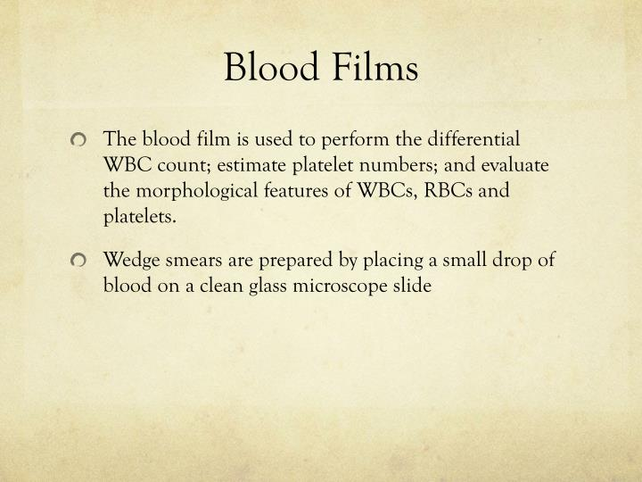 Blood Films