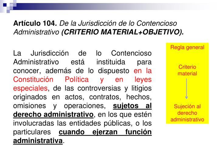 Artículo 104
