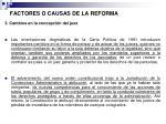 factores o causas de la reforma7