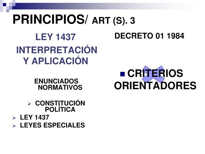 DECRETO 01 1984