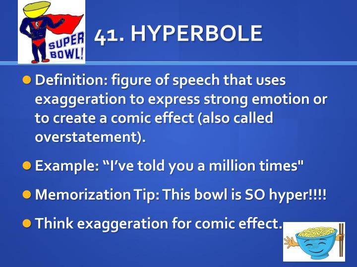41. HYPERBOLE