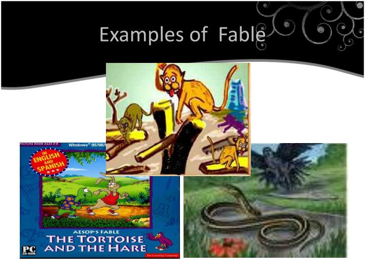 Examples of  Fable