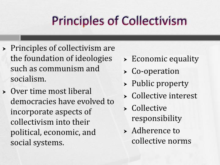 Principles of Collectivism